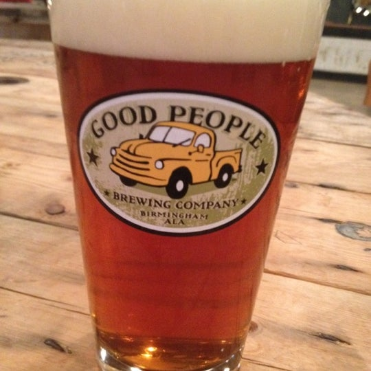 Photo taken at Good People Brewing Company by Zac on 5/11/2012