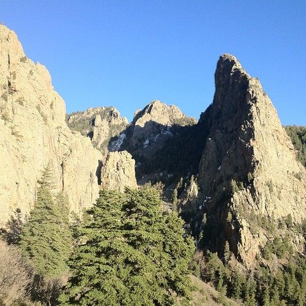 Photo taken at La Luz Trailhead by Scotty P. on 4/17/2012