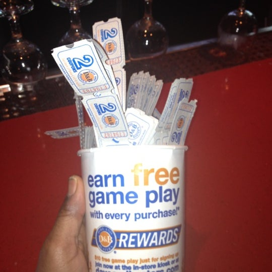 Photo taken at Dave & Buster's by Fabrice L. on 4/12/2012