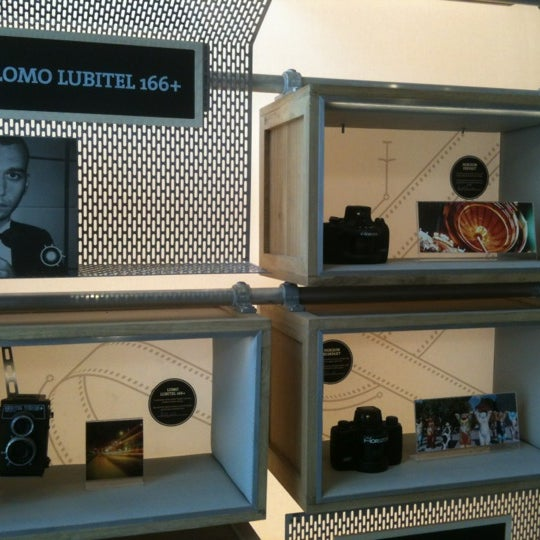 Photo taken at Lomography Gallery Store by Haim D. on 2/4/2012