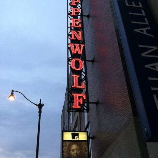 Photo taken at Steppenwolf Theatre Company by Bill D. on 8/13/2012