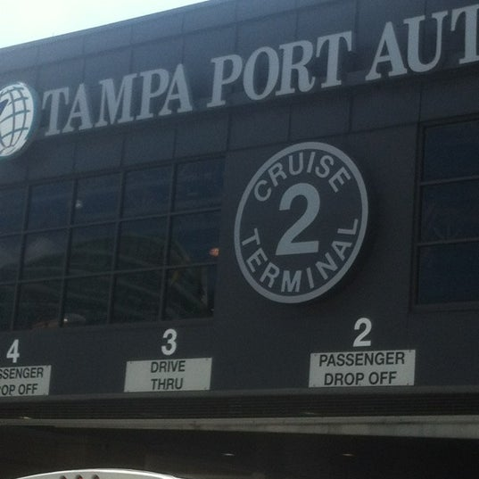 Tampa Bay Cruise Port: Tampa Port Authority Terminal 2