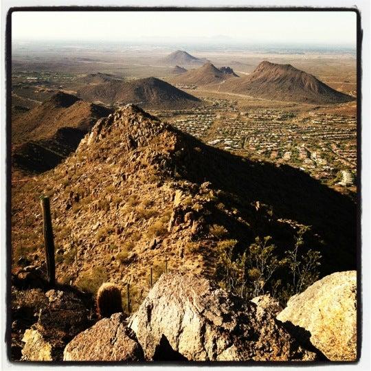 Photo taken at Sunrise Peak by Veronica G. on 5/5/2012