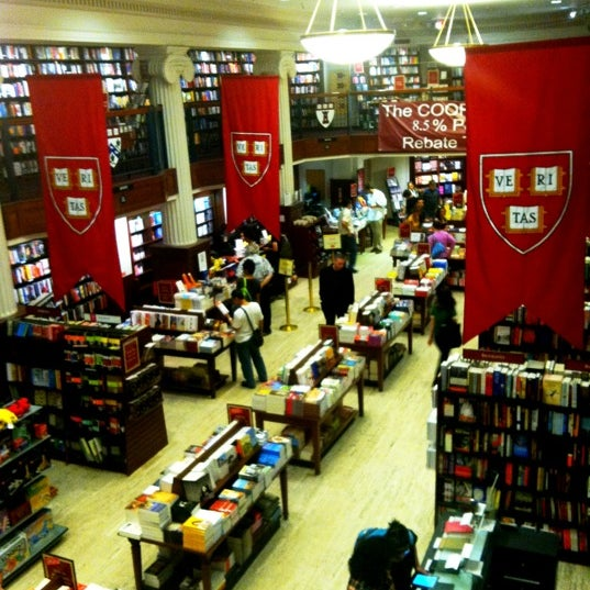 Photo taken at Harvard Coop Society Bookstore by R. B. on 8/29/2012