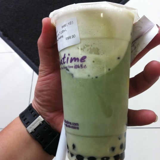 Photo taken at Chatime by Buibui R. on 4/20/2012