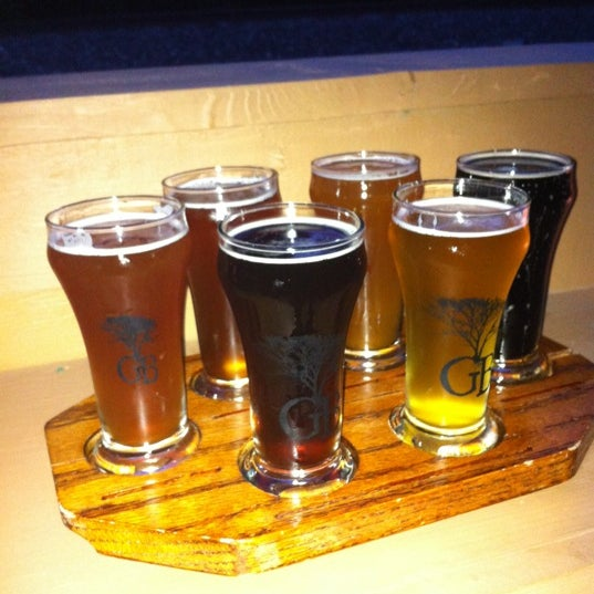 Photo taken at Greenbush Brewing Company by Gina P. on 8/19/2012