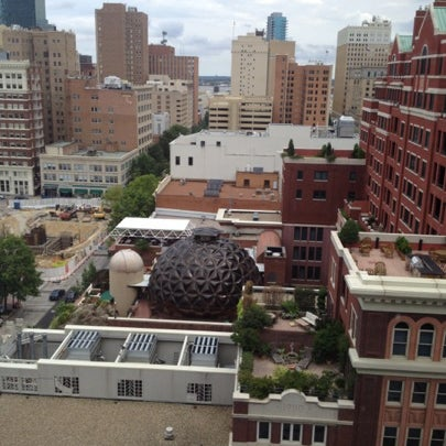 Photo taken at The Worthington Renaissance Fort Worth Hotel by Cigie M. on 8/18/2012