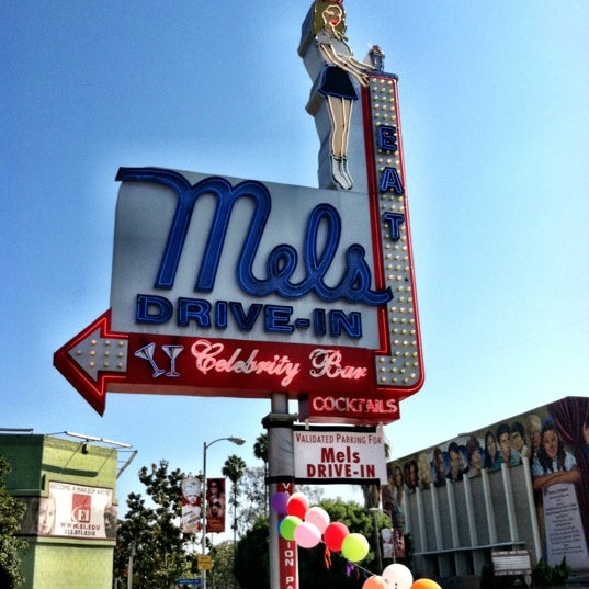 Photo taken at Mel's Drive-In by Randy B. on 7/30/2012