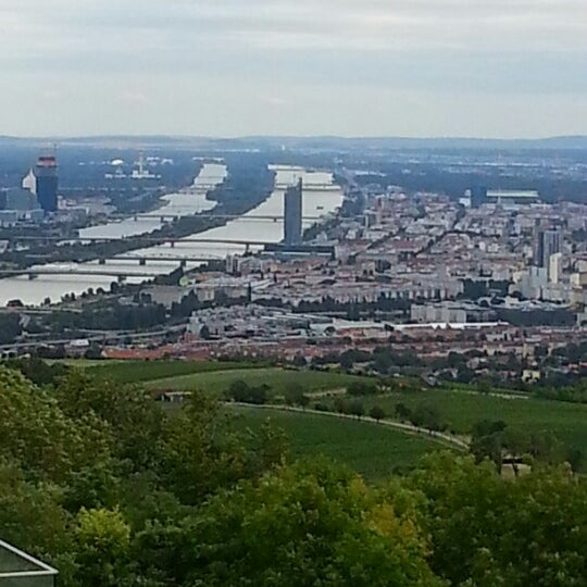 Photo taken at Kahlenberg by Peter S. on 7/12/2012