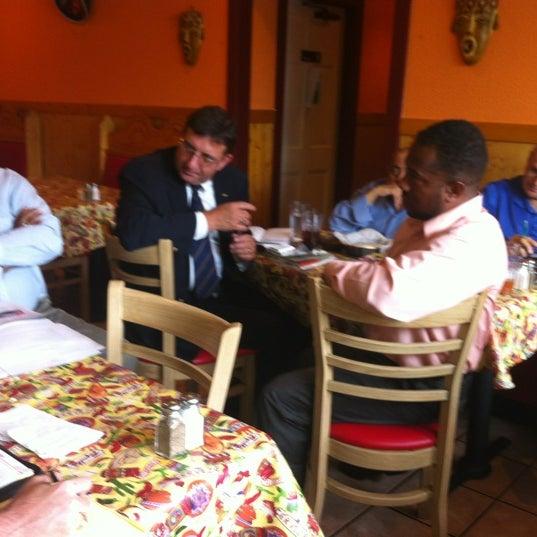 Photo taken at Los Toltecos by Melinda S. on 8/7/2012