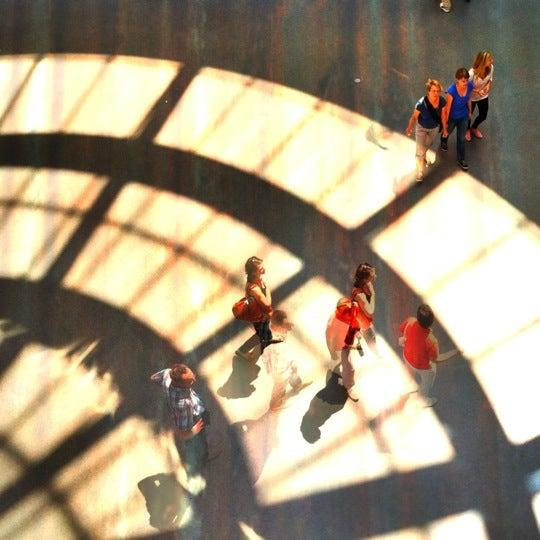 Photo taken at Pinakothek der Moderne by Mathias V. on 7/8/2012