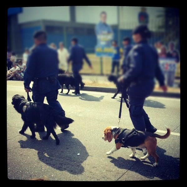 Photo taken at Avenida Presidente Kennedy by Stephanie O. on 9/7/2012