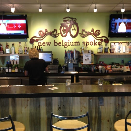 Photo taken at New Belgium Brewing Hub by Cat L. on 5/22/2012