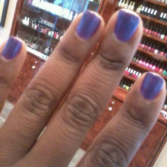 vinny did a great job on my nails.