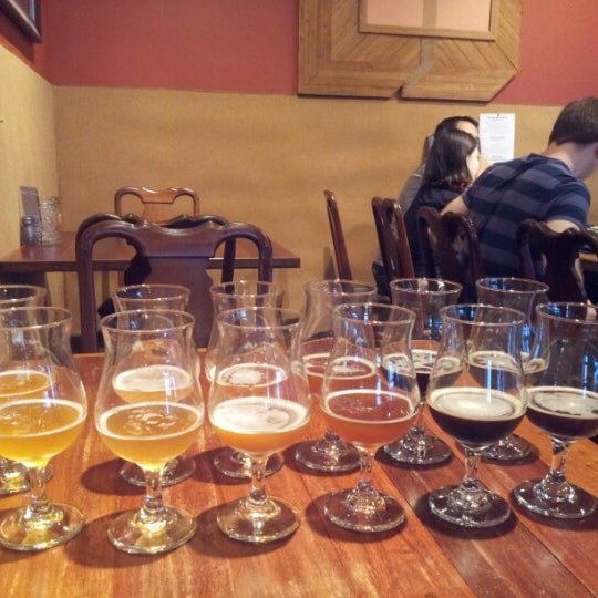 Photo taken at 5 Seasons Brewing by Tracy M. on 7/21/2012
