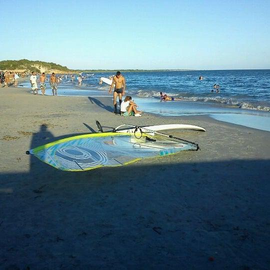 Photo taken at Playa El Yaque by choco p. on 2/21/2012