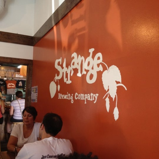Photo taken at Strange Craft Beer Company by Ke'Mani S. on 8/11/2012