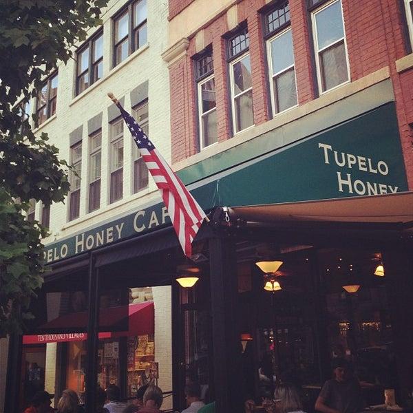 Photo taken at Tupelo Honey by Jamie P. on 8/10/2012