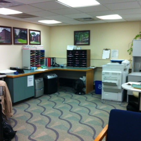 Photo taken at Wesleyan University Office of Residence Life by Rabia S. on 2/21/2012