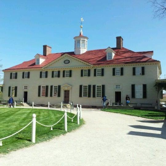 Photo taken at George Washington's Mount Vernon by Sam F. on 3/27/2012