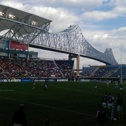 Photo taken at Talen Energy Stadium by Z W. on 6/3/2012