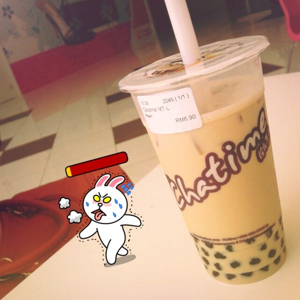 Photo taken at Chatime by Daeyeona on 6/13/2012