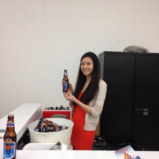 Photo taken at Thrillist HQ by Raj G. on 4/19/2012