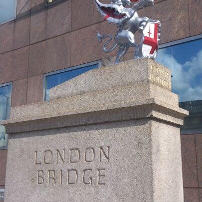 Photo taken at London Bridge by Simone V. on 8/20/2012