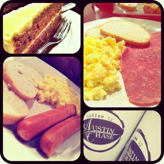 Photo taken at Austin Chase Coffee by Mun on 6/3/2012