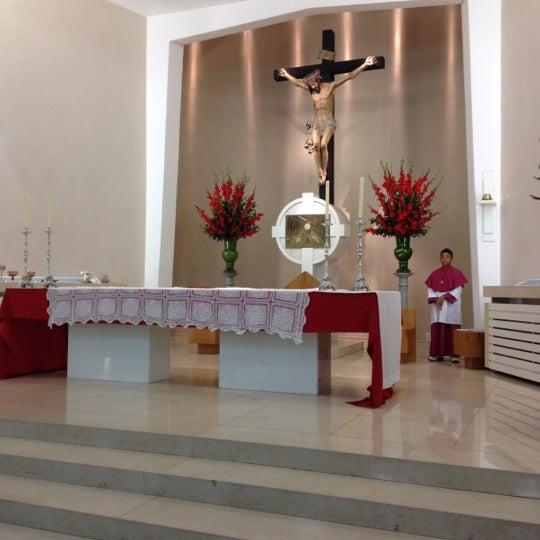 Photo taken at Paróquia Santa Mônica by Victor B. on 6/30/2012