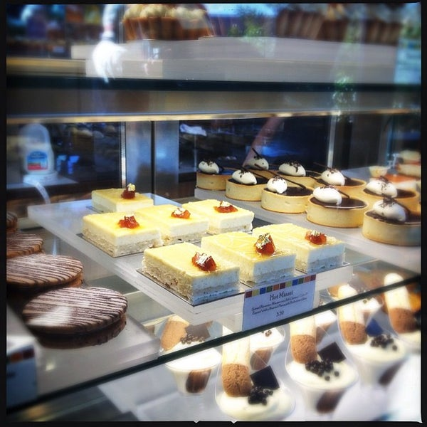 Photo taken at CIA Bakery Cafe by LiveShareTravel on 4/24/2012
