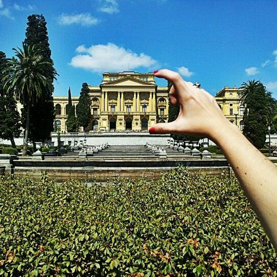 Das Foto wurde bei Museu Paulista von Ricardo V. am 8/27/2012 aufgenommen