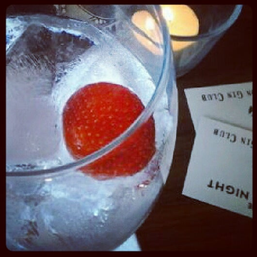 The London Gin Club; We went to their launch - it was gin o'clock.