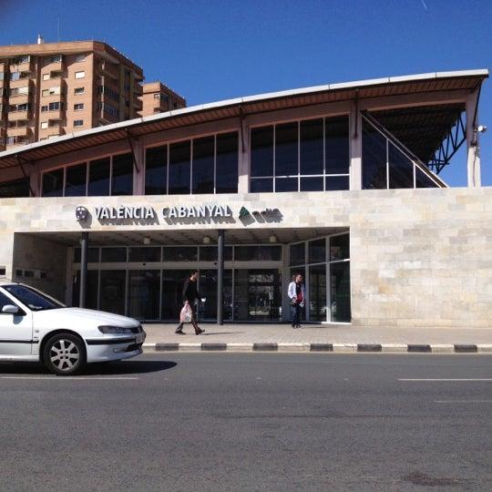 Photo taken at Estació de Tren - València-Cabanyal by Jose P. on 3/22/2012