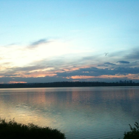 Photo taken at Denny Blaine Park by Adrian G. on 4/23/2012