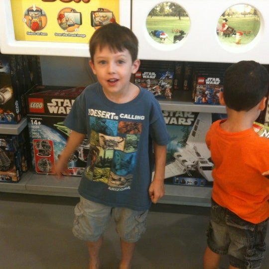Photo taken at The LEGO Store by Matt M. on 7/11/2012