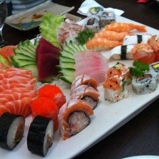 Photo taken at Joy Sushi by Ivan M. on 4/14/2012