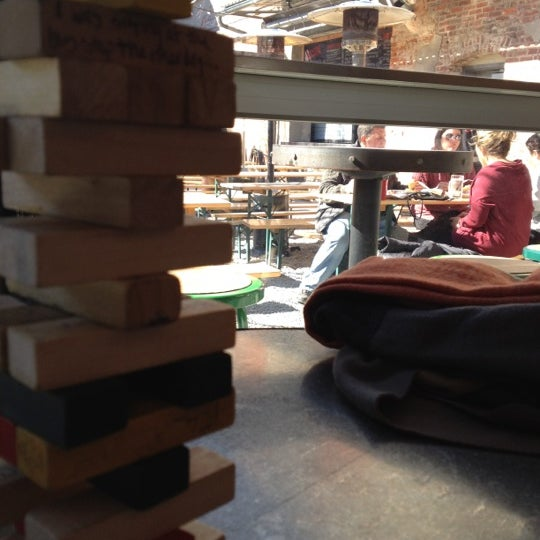 Photo taken at Frankford Hall by David C. on 2/26/2012