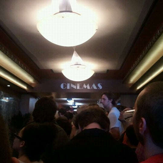 Photo taken at Logan Theatre by Kimberly N. on 3/17/2012