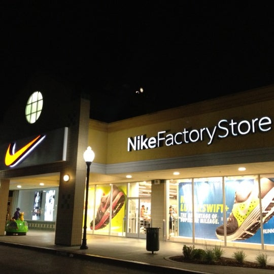 NIKE Factory Store, located at Gilroy Premium Outlets®: Nike brings inspiration and innovation to every athlete. Experience sports, training, shopping and everything else that's new at Nike in Men's, Women's and Kids apparel and footwear.