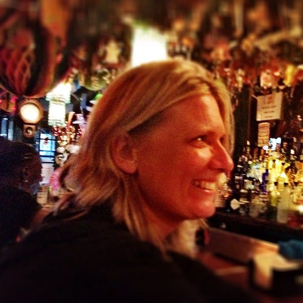 Photo taken at The Cubbyhole Bar by Lisa P. on 9/1/2012