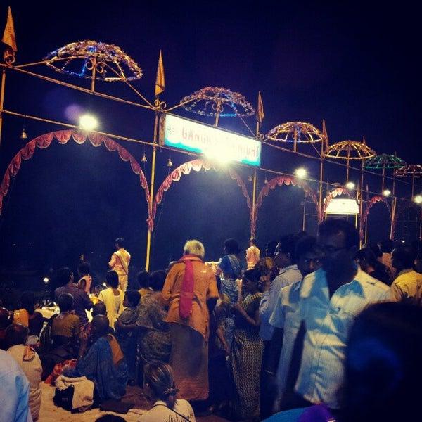 Photo taken at Dasaswamedh Ghat by Anirudh R. on 5/14/2012