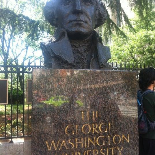 Photo taken at The George Washington University by Benjamin K. on 5/19/2012