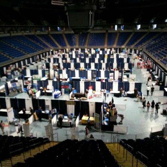 Photo taken at Bryce Jordan Center by Jeff R. on 9/11/2012