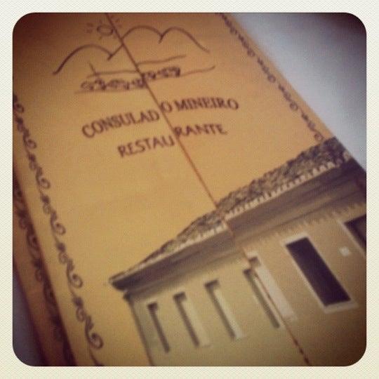 Foto tirada no(a) Consulado Mineiro por Tati G. em 9/8/2012