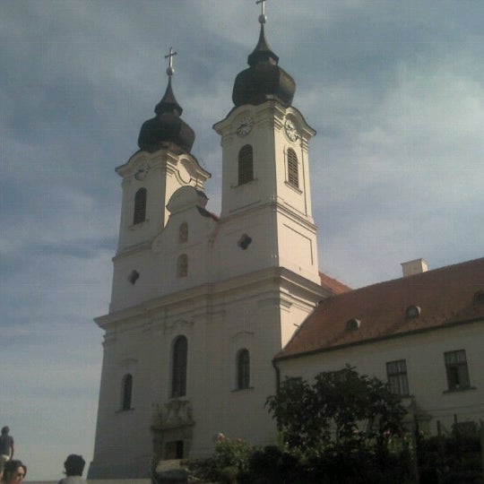 Photo taken at Tihanyi Apátság by Imre C. on 8/21/2012