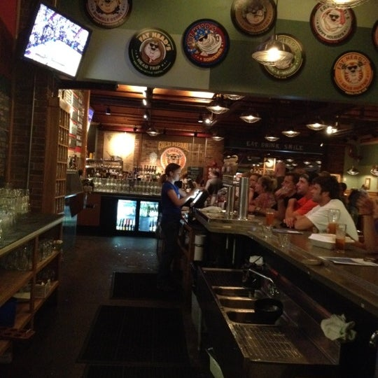 Photo taken at Fat Head's Brewery & Saloon by Craig L. on 6/20/2012