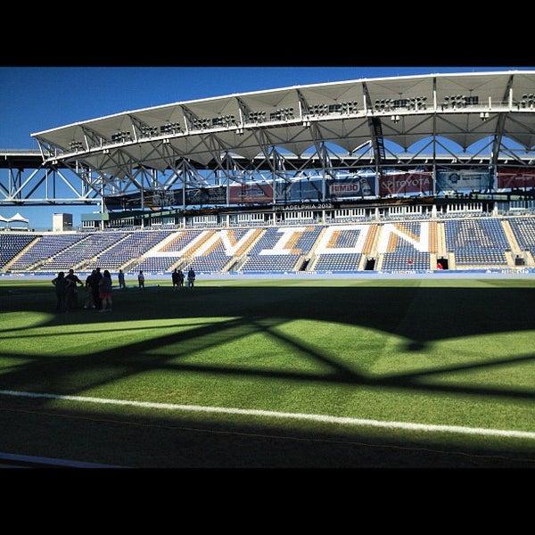 Photo taken at Talen Energy Stadium by WillMcD on 7/25/2012