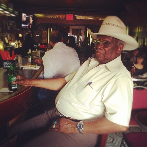 Photo taken at Lenox Lounge by Anna G. on 6/27/2012