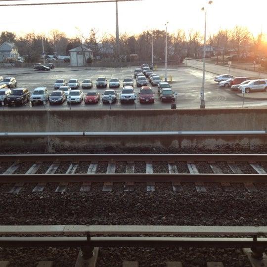 Photo taken at PATCO: Ashland Station by Jeff K. on 2/9/2012